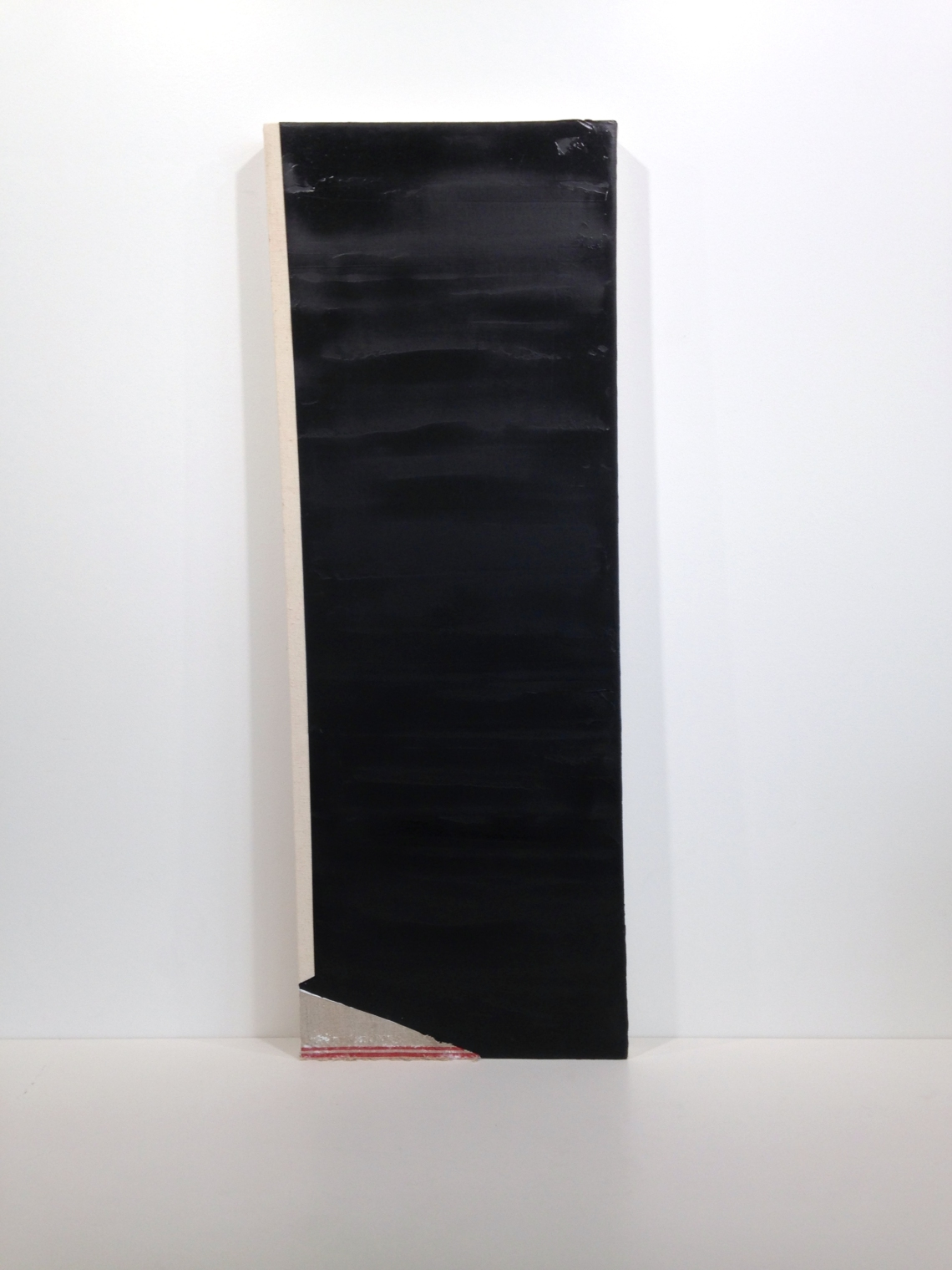 Monolith. Oil, pencil and linen on canvas, 2015.