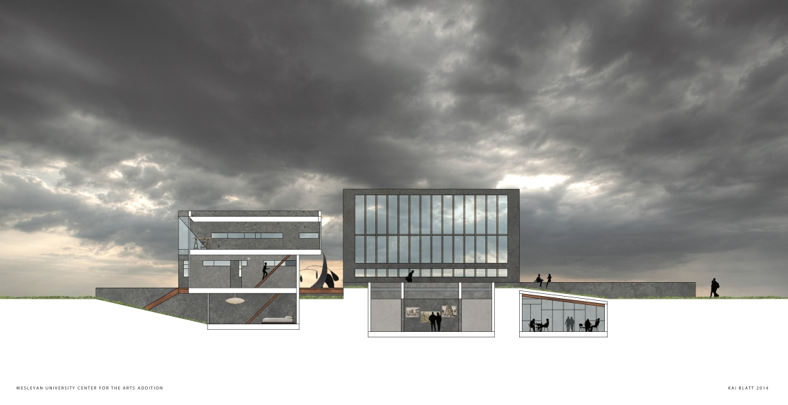 Arch I Final Rendered Section